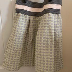 Anthropologie high waisted mini skirt